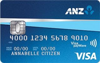 ANZ First for Students credit card