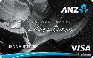 ANZ Rewards Travel Adventures card