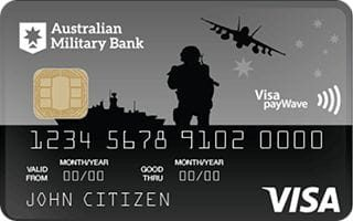 Australian Military Bank Low Rate Visa Credit Card