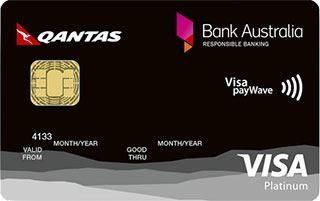 Bank Australia Platinum Rewards Visa card