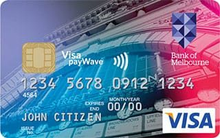 Bank of Melbourne No Annual Fee Credit Card