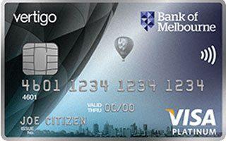 Bank of Melbourne Vertigo Platinum – Cashback Offer