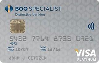 BOQ Specialist Platinum Credit Card