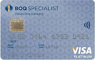 BOQ Specialist Platinum card with Velocity Points