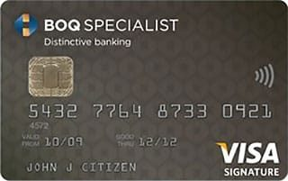 BOQ Specialist Signature Credit Card with Qantas