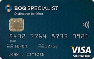 BOQ Specialist Signature Credit Card – Velocity Points
