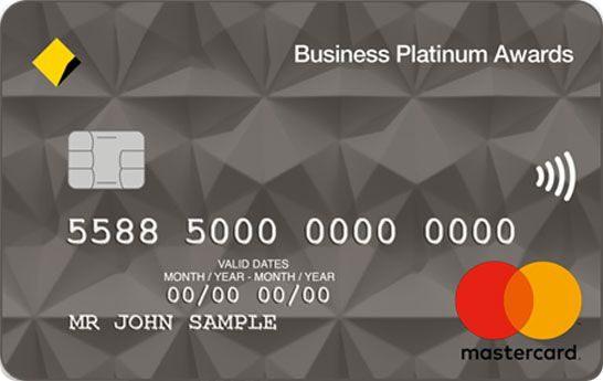 Commonwealth Bank Business Platinum Awards Credit Card