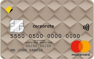Commonwealth Bank Corporate charge card