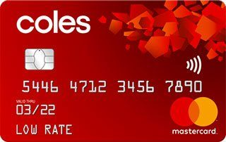 Coles Low Rate Mastercard – Exclusive Offer