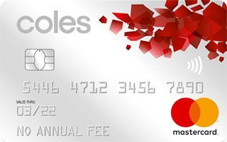 Coles No Annual Fee Mastercard - Exclusive Offer image