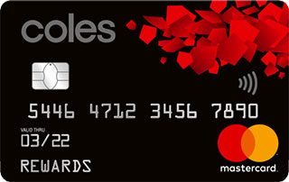 Coles Rewards Mastercard – Exclusive Offer