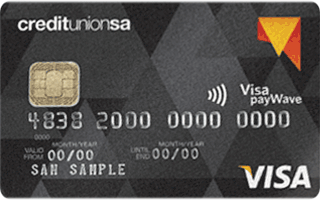 Credit Union SA Visa Credit Card