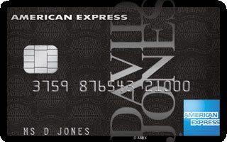 David Jones American Express Card