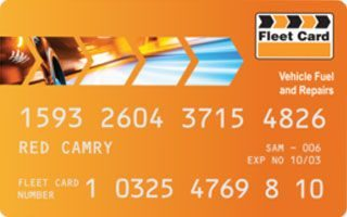 Fleet Card Orange