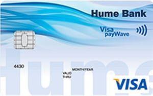 Hume Clear Visa credit card