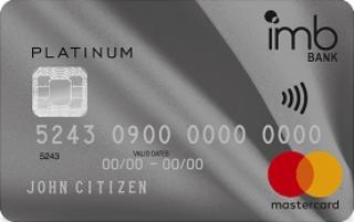 IMB Platinum Rewards Mastercard