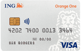 ING Orange One Low Rate credit card