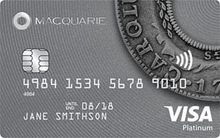 Macquarie Platinum credit card