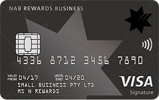 NAB Rewards Business Signature