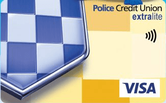 Police Credit Union extralite Credit Card