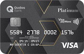 Qudos Bank Visa Platinum Credit Card