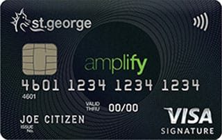 St.George Amplify Signature credit card
