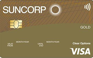 Suncorp Clear Options Gold Credit Card