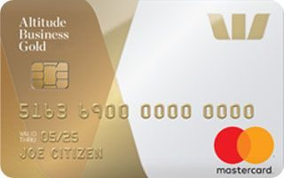 Westpac Altitude Business Gold Mastercard