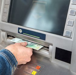 atm cash withdrawal