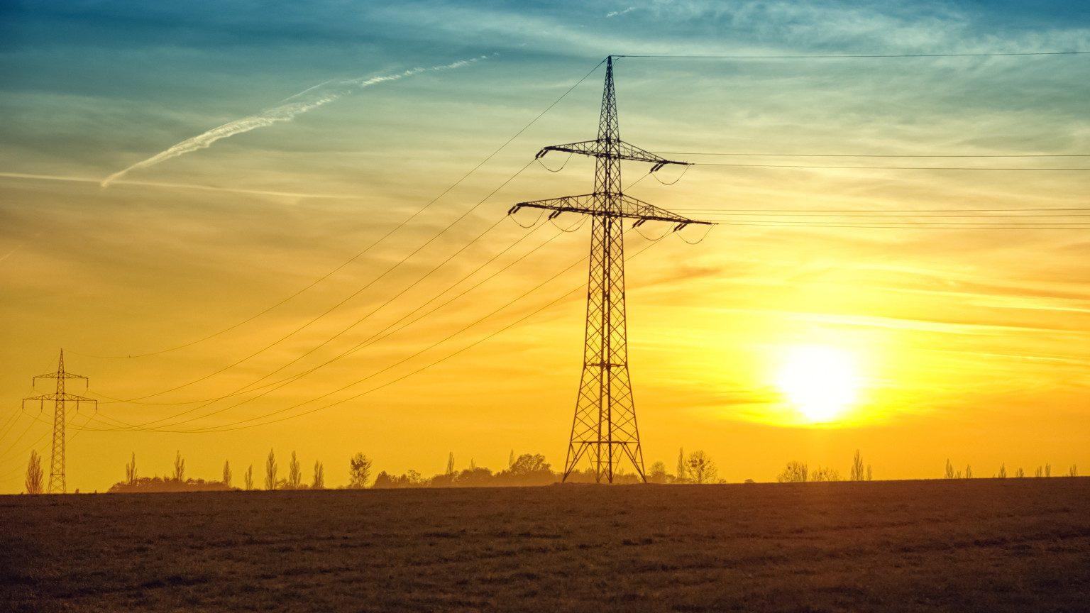 Power Tower at Dawn