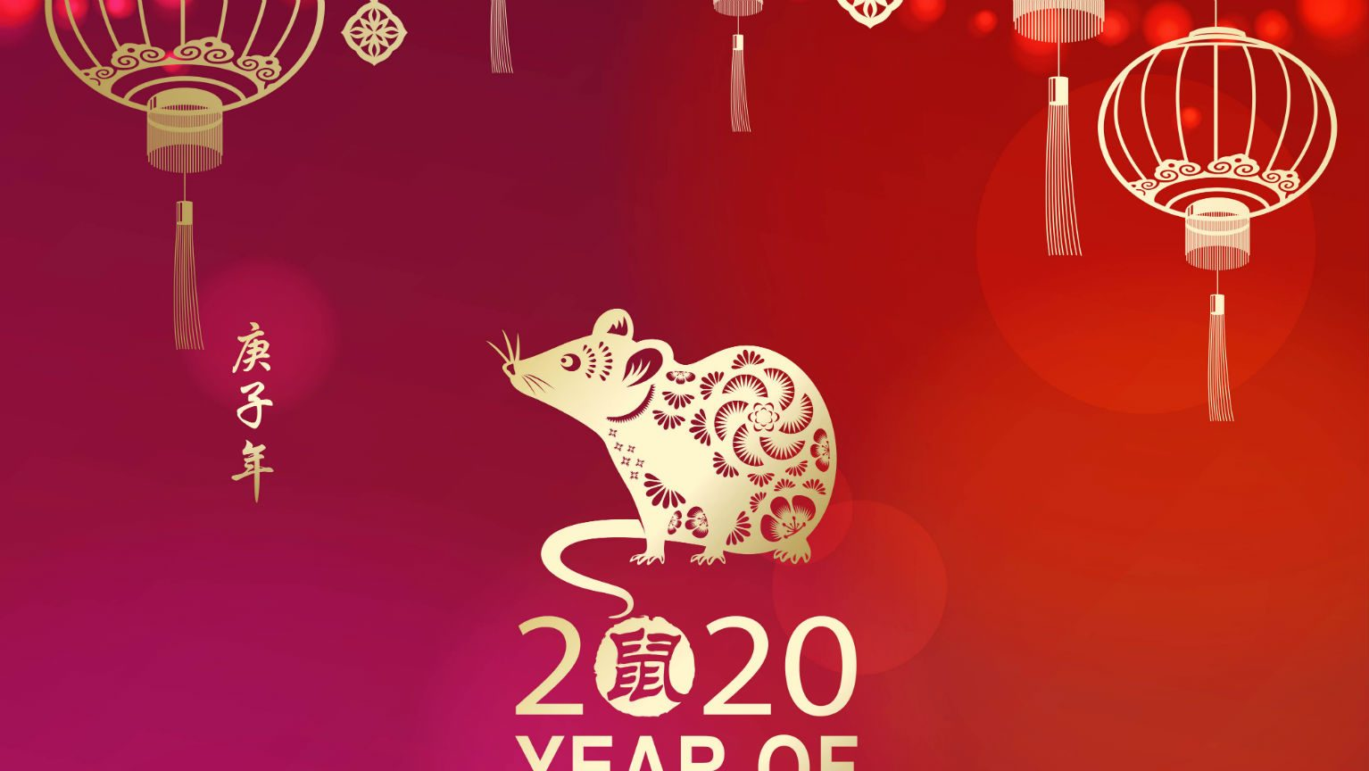 Chinese New Year 2020 -Year of the Rat
