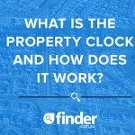 What is the property clock and how does it work?