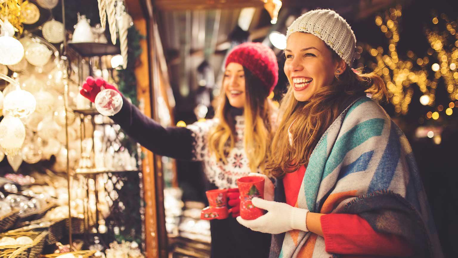 Christmas markets.