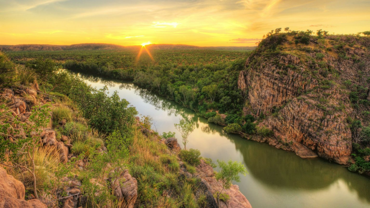 View of Northern Territory