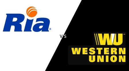 Western Union vs Ria
