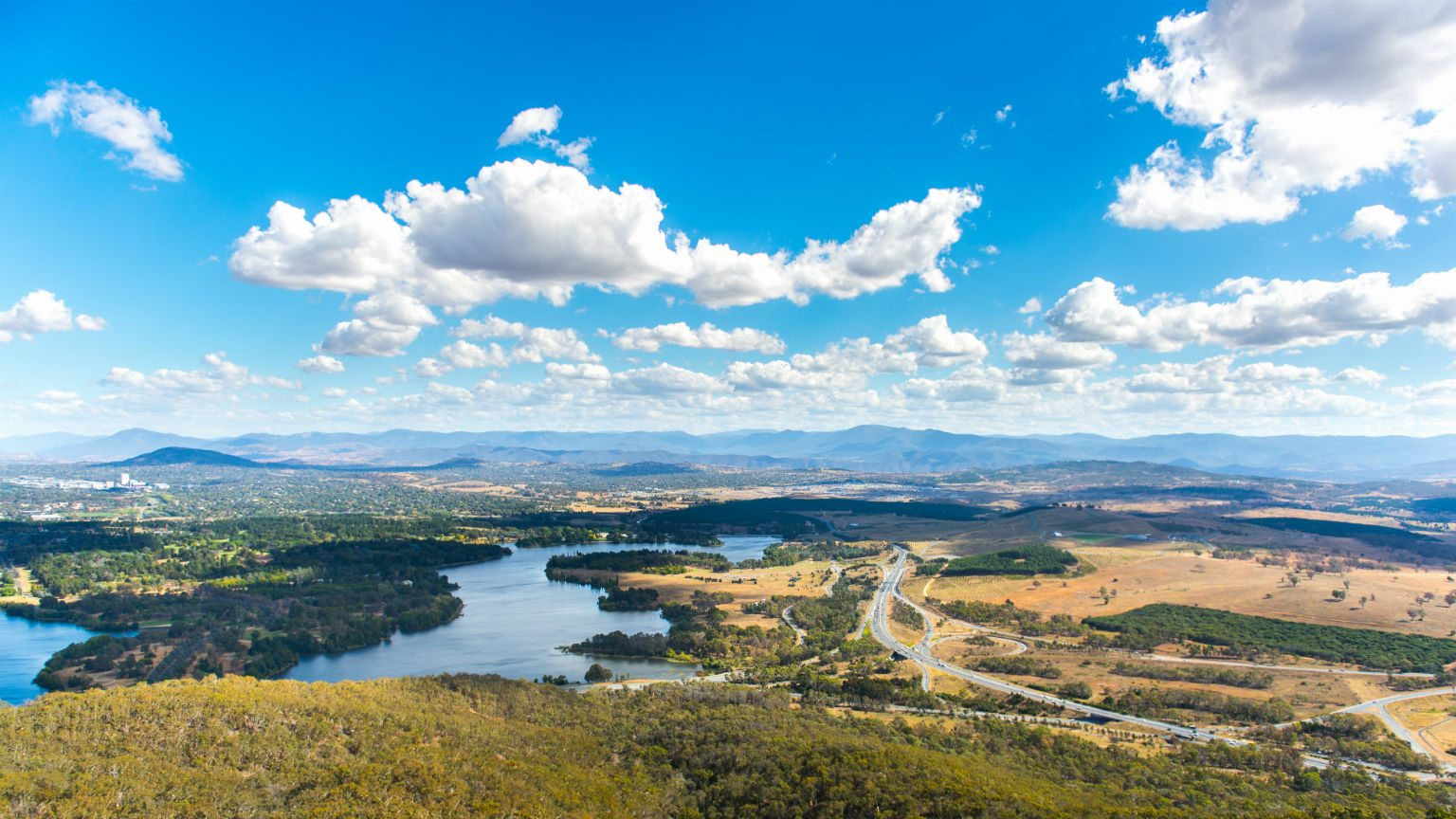 Canberra lookout