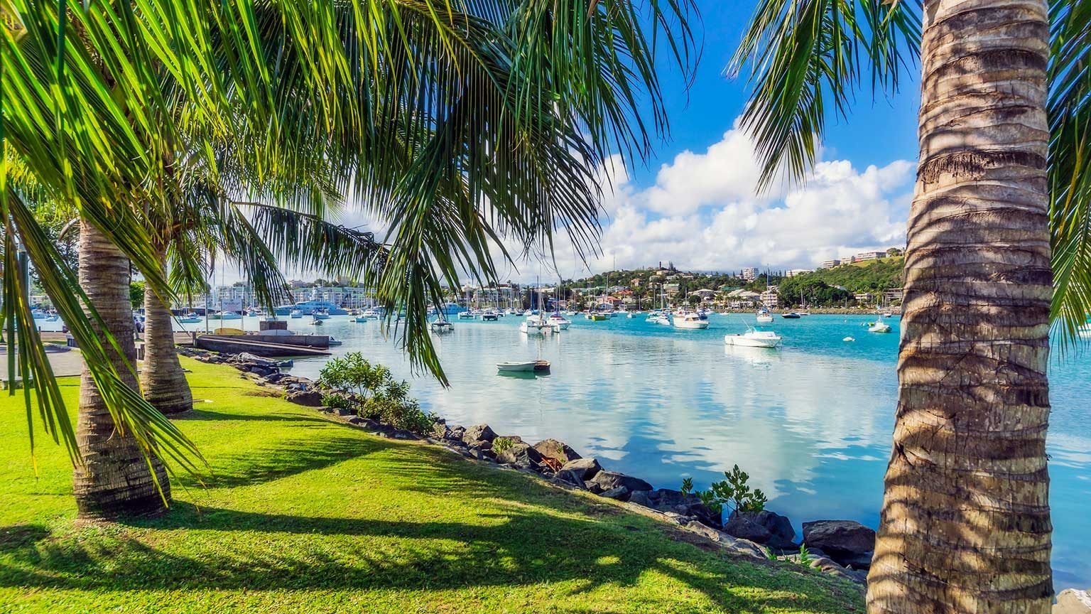 Harbour at Noumea in New Calendonia.