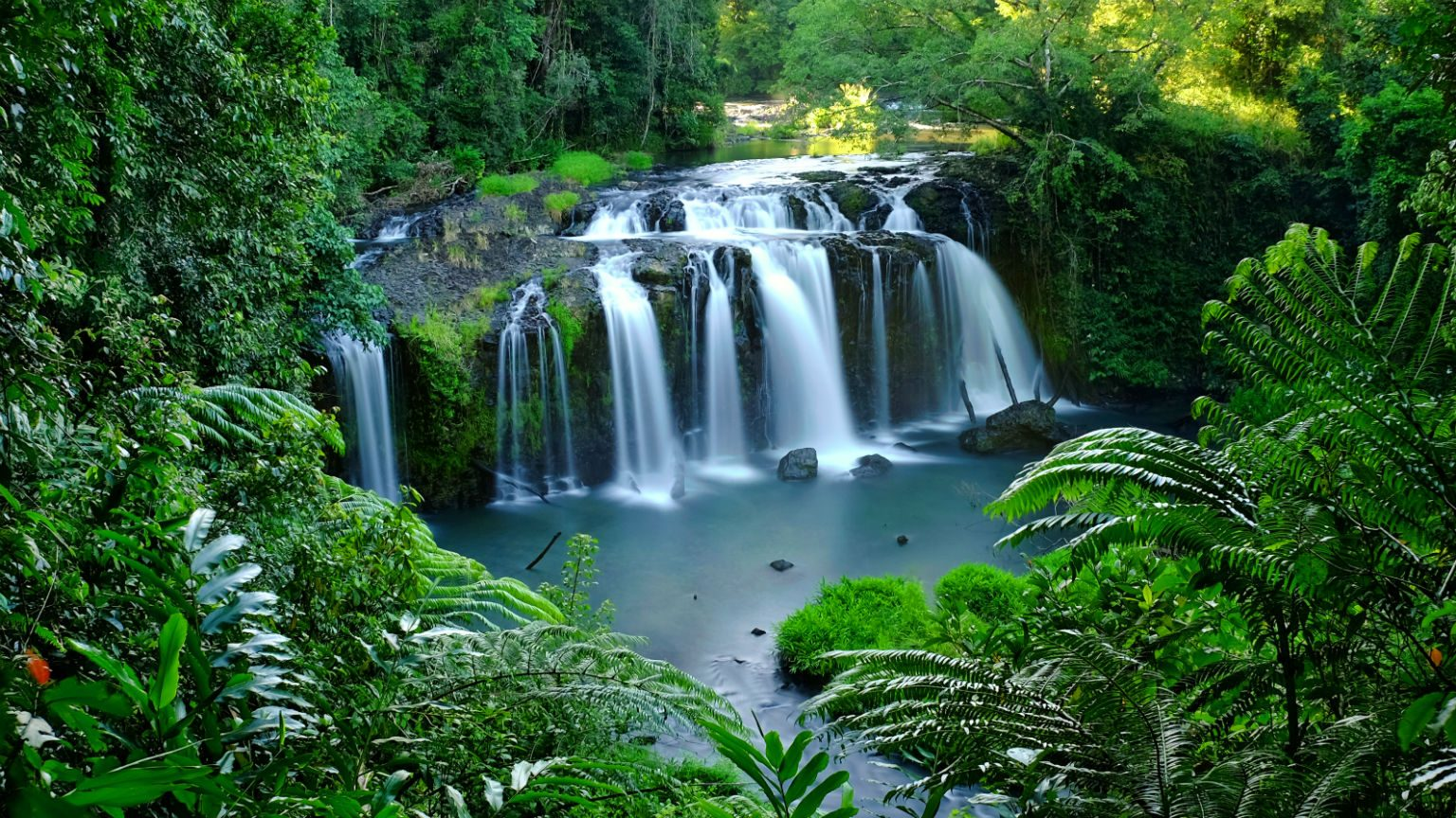 Waterfall in Northern Queensland