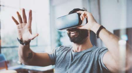 Virtual reality and its lead in the second tech stock boom