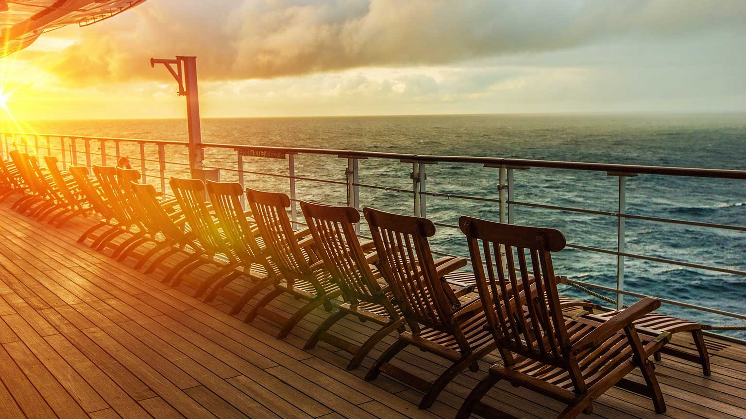 Cruise deck.