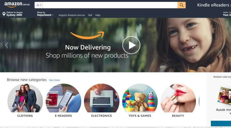 Live blog: Amazon Australia has launched
