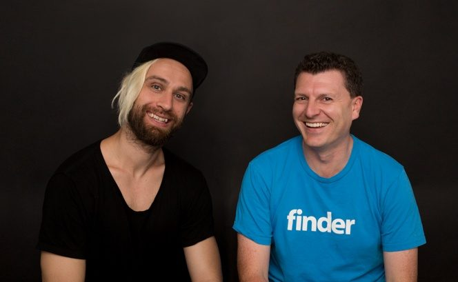 Frank Restuccia and Fred Schebesta, CEOs at finder.com.au