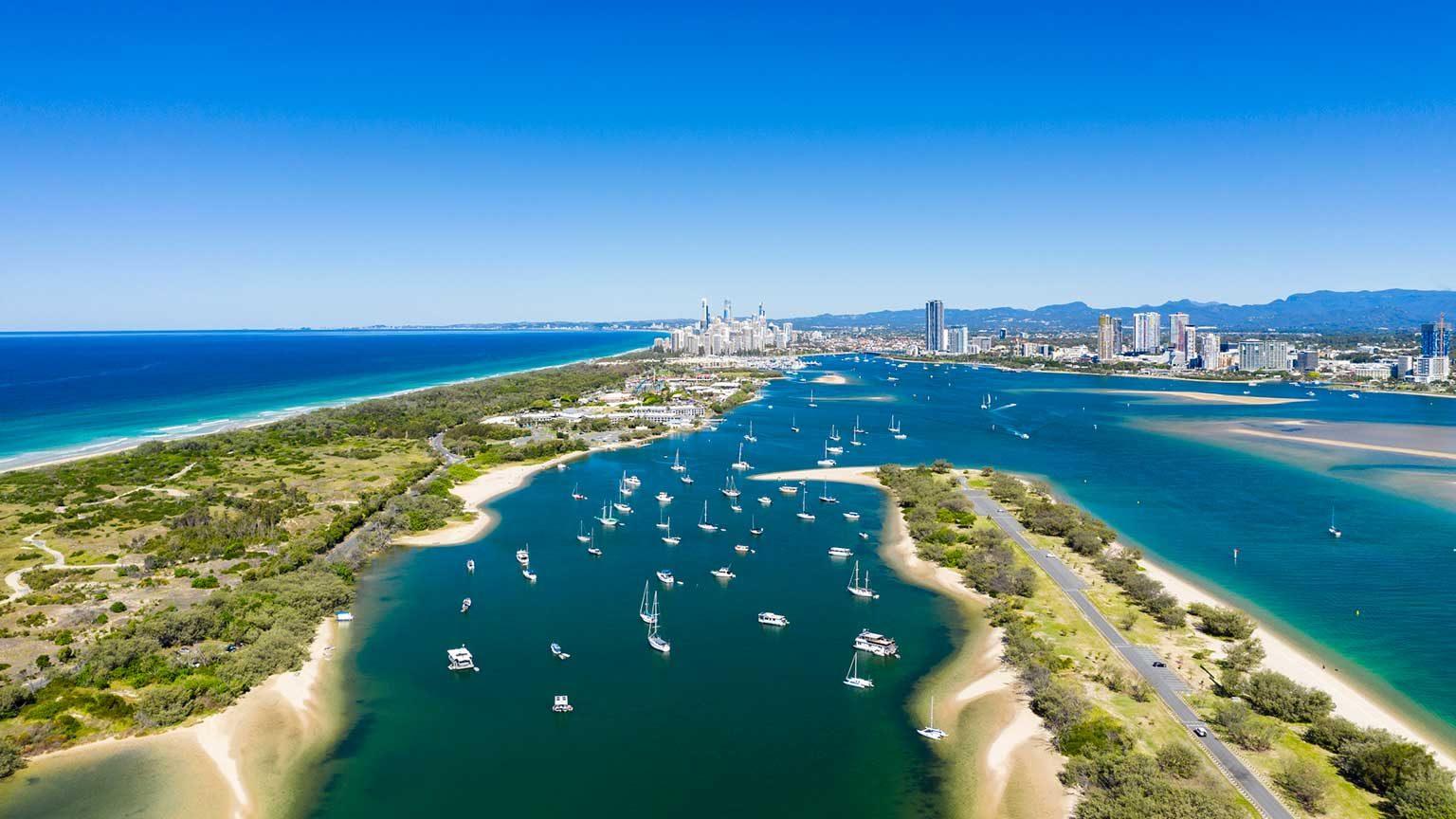 Gold Coast canals.