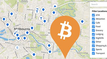 MAP: Bitcoin ATMs and shops that accept BTC payment in Melbourne