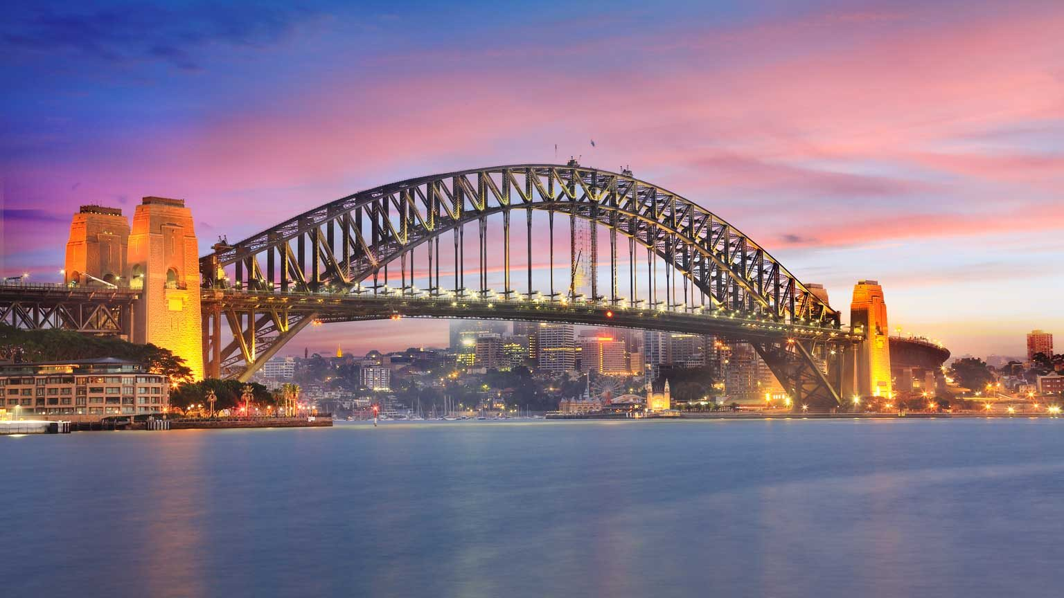 Sydney Harbour Bridge Sunrise