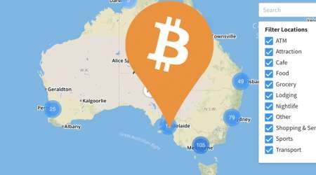 MAP: Bitcoin ATMs and shops that accept BTC payment in Australia
