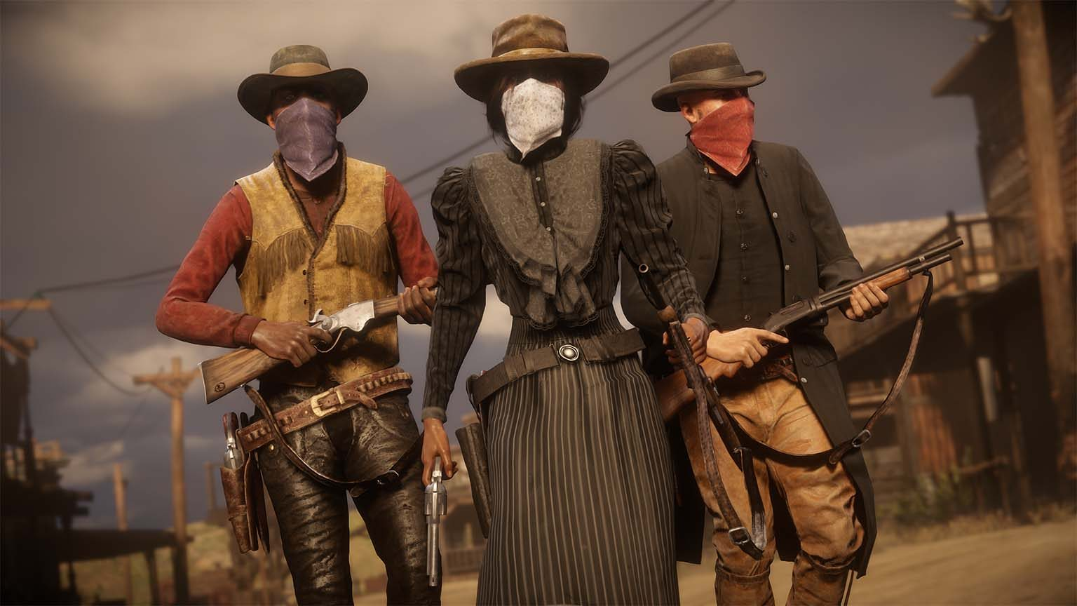 Red Dead Redemption co-op