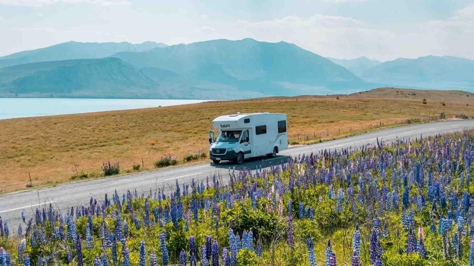 Campervan in New Zealand