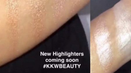 Where and when you can buy the new KKW Beauty highlighters