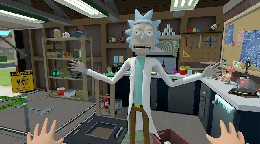 Rick and Morty VR review